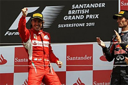 Alonso says British Grand Prix win a huge boost for Ferrari