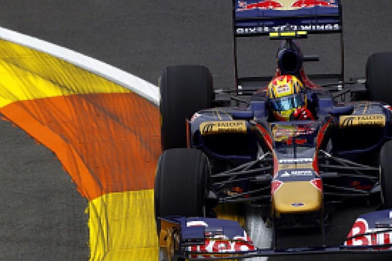 Jaime Alguersuari shrugs off engine problems in European Grand Prix practice