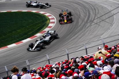 Formel 1 Kanada: Drei DRS-Zonen und kleine Änderungen an der Strecke