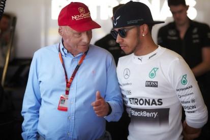 Lewis Hamilton: Mit Niki Lauda nie über das Rennfahren geredet