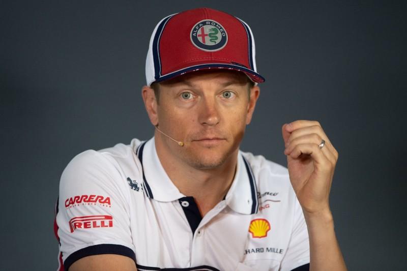 Kimi Räikkönen: Wie es ist, wieder im Mittelfeld zu fahren