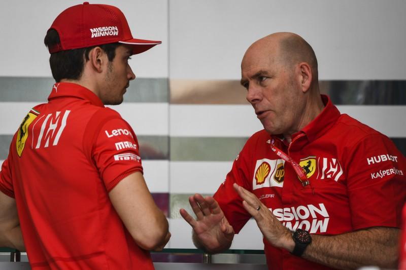 Lernprozess bei Charles Leclerc: Jock Clear ist sein Fahrer-Mentor
