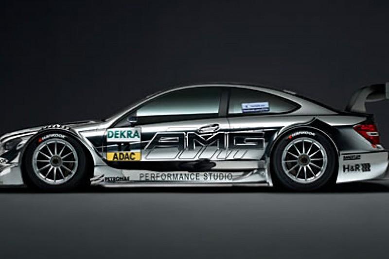 Mercedes launches its new DTM car in Frankfurt