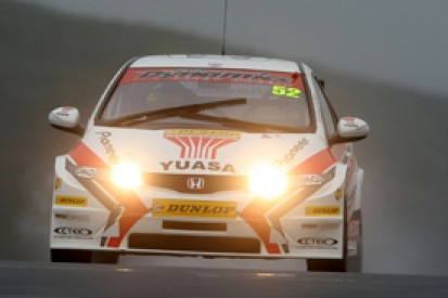 Gordon Shedden leads first British Touring Car practice at home track Knockhill