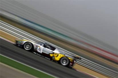 Marc VDS' Maxime Martin gives Ford its first World GT1 pole of 2011 in China