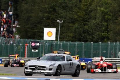 Fernando Alonso says Belgian GP safety car helped Sebastian Vettel to win