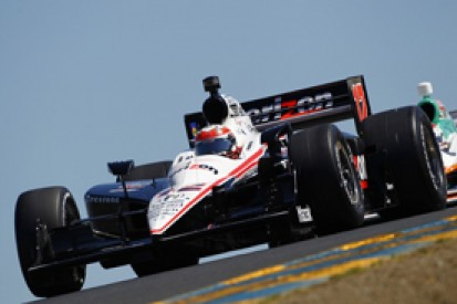 Will Power leads a Penske clean sweep of the top three in IndyCar qualifying at Sears Point