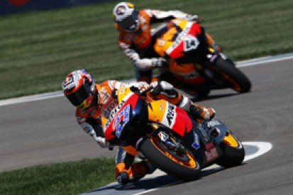 Casey Stoner storms to pole position for Indianapolis Grand Prix