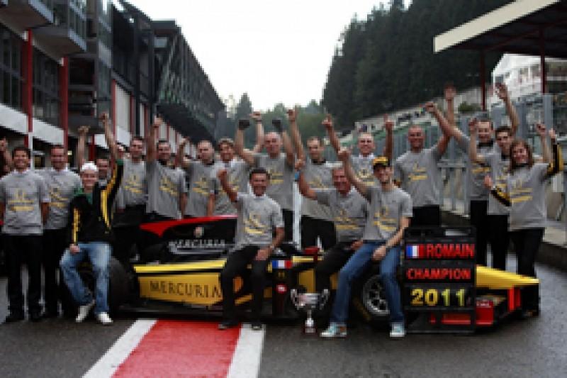 Romain Grosjean pays tribute to DAMS team after winning GP2 crown