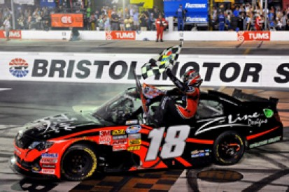 Kyle Busch sets Nationwide win record with 50th series triumph at Bristol