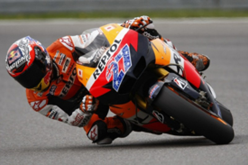 Casey Stoner fastest in second Indianapolis Grand Prix practice session