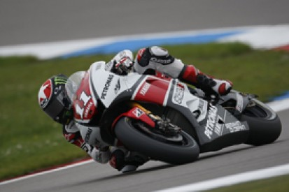 Ben Spies sets pace in first practice session for Indianapolis Grand Prix