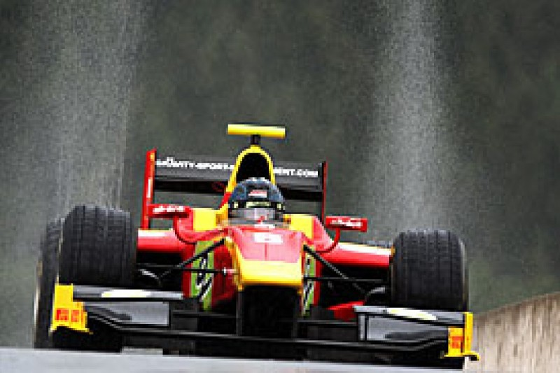 Vietoris takes dominant Spa GP2 pole in the wet