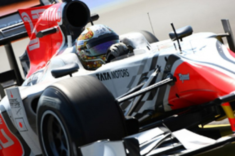 Vitantonio Liuzzi positive about his chances of staying with HRT in 2012