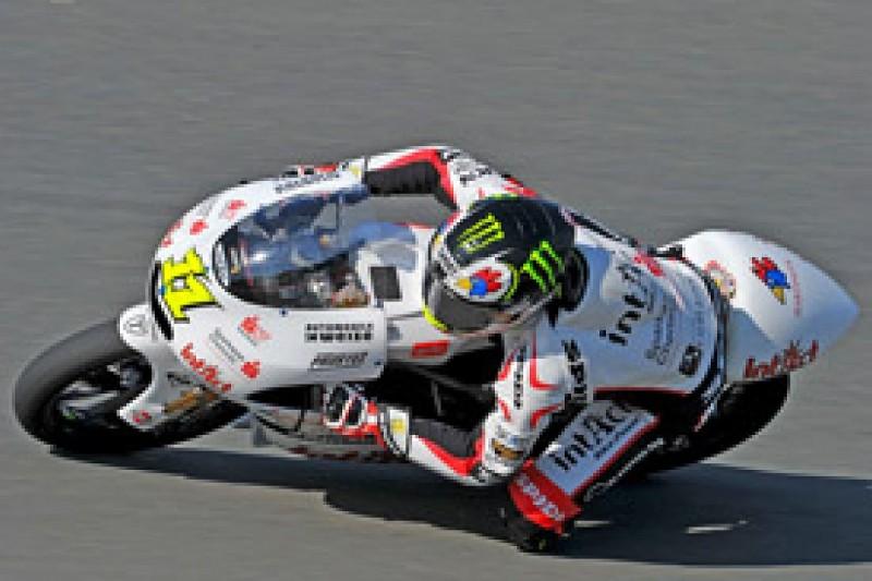 Sandro Cortese takes maiden 125cc grand prix win at Brno