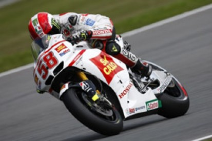Marco Simoncelli delighted to secure maiden MotoGP podium finish at Brno