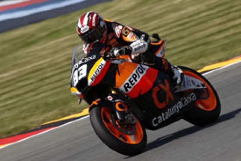 Marc Marquez makes it four Moto2 poles in five races at Brno