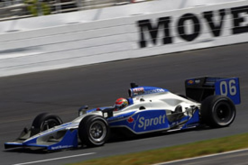 James Hinchcliffe heads final IndyCar practice at New Hampshire