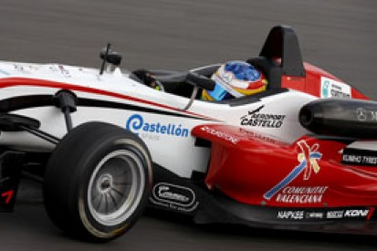 Roberto Merhi keeps pole for the Masters of Formula 3, as Marco Wittmann tops wet second qualifying
