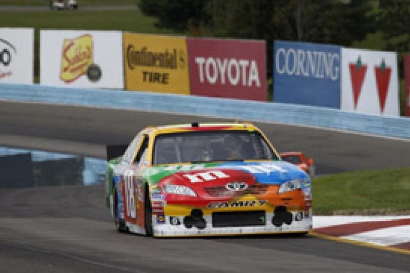 Kyle Busch takes NASCAR Sprint Cup pole at Watkins Glen