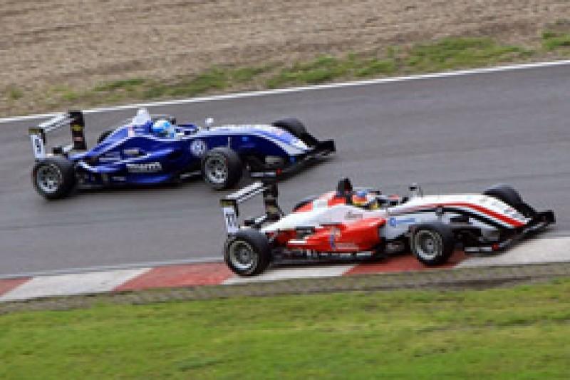 Roberto Merhi on provisional pole for F3 Masters at Zandvoort