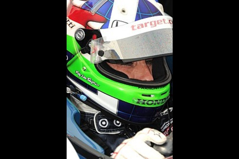 Dario Franchitti tops first IndyCar practice session at New Hampshire