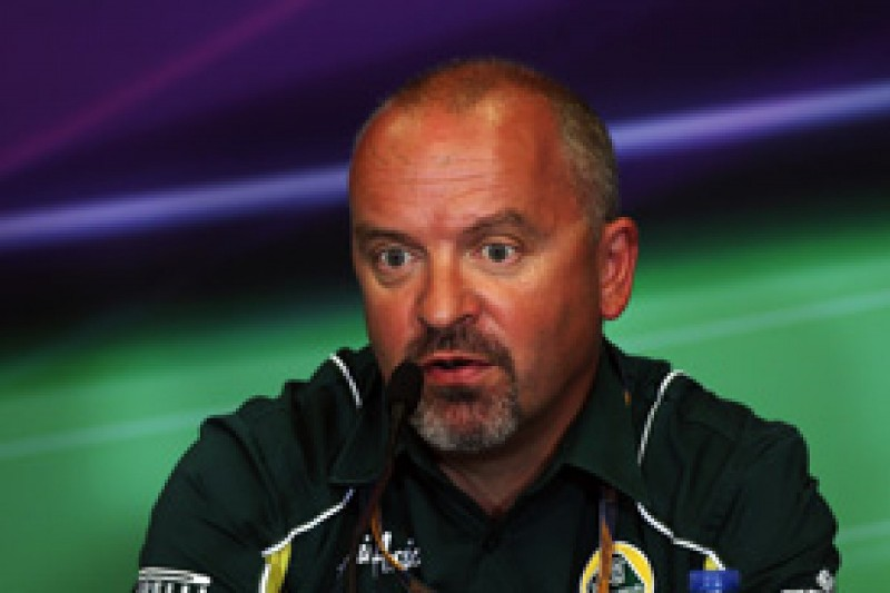 Mike Gascoyne confident team Lotus will be a midfield runner in 2012