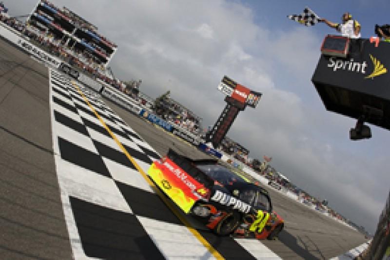 Pocono gets shorter NASCAR races in 2012