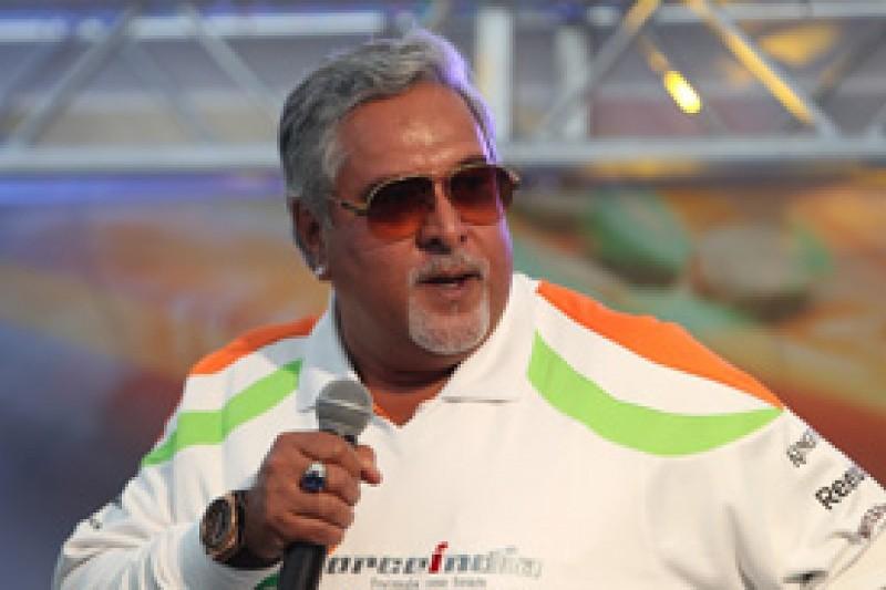 Vijay Mallya confident Indian GP circuit will be ready on time