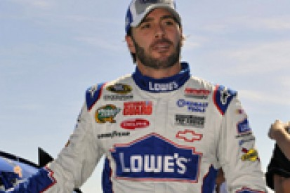 Jimmie Johnson feeling less pressure than in previous Sprint Cup Chases