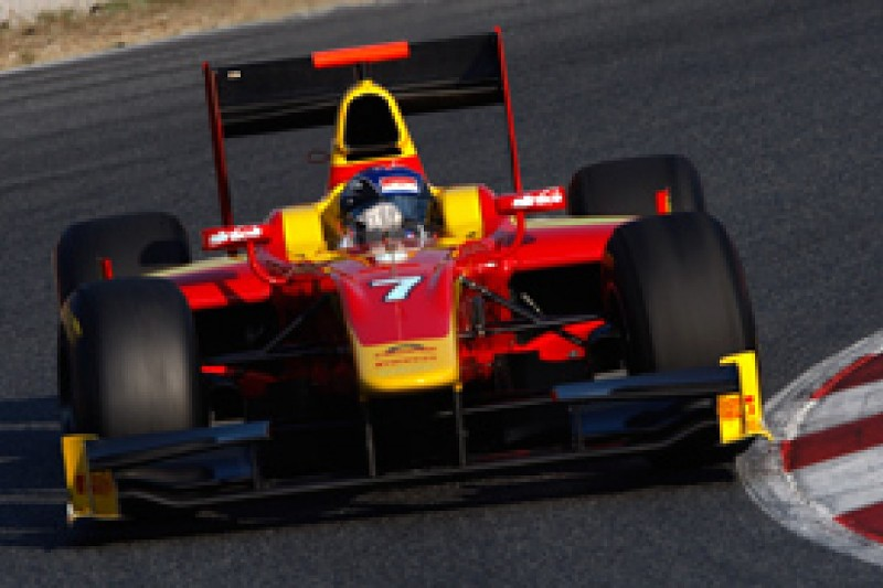 Leimer completes impressive post-season form by topping final test at Barcelona