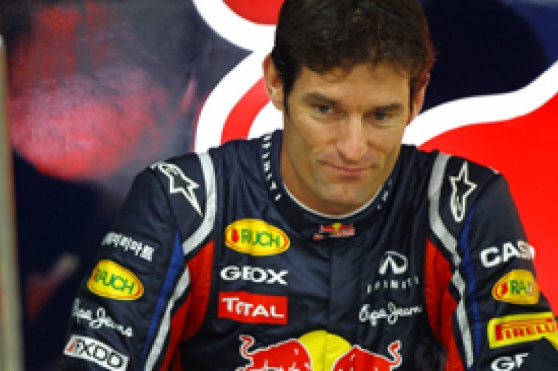 Mark Webber backs plan to have one move rule written into 2012 F1 regulations
