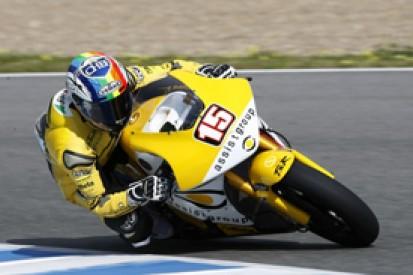 Alex de Angelis takes late Moto2 pole for Australian Grand Prix