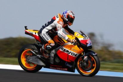 Casey Stoner stays on top in final Australian Grand Prix practice