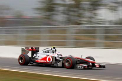 Jenson Button tops final Korean GP practice with late effort