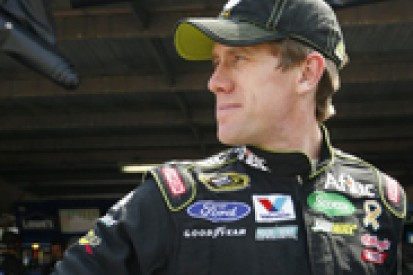 Carl Edwards optimistic of remaining in NASCAR Chase contention