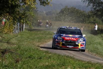 Sebastien Ogier pulls out small lead over Dani Sordo in France