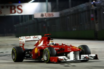 Ferrari admits its car is no match for the Red Bull or McLaren