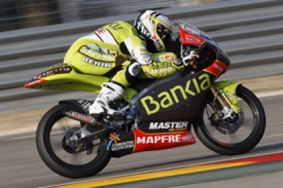 Hector Faubel takes first pole of his 125cc return at Aragon
