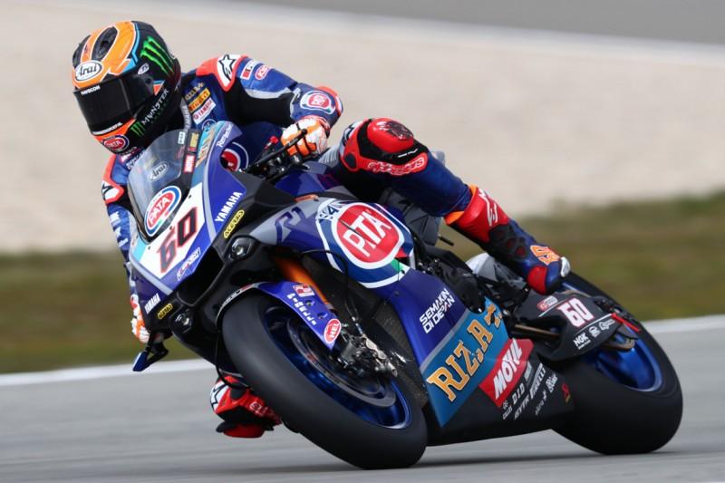 WSBK Jerez FT1: Yamaha gibt den Ton an, Reiterberger ohne gezeitete Runde