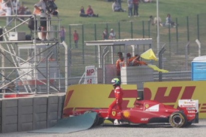 Felipe Massa calls for changes to Buddh circuit kerbs after qualifying crash