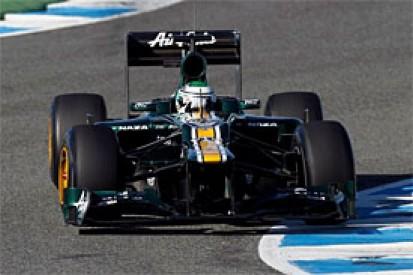 Heikki Kovalainen sure new Caterham CT01 is a step forward
