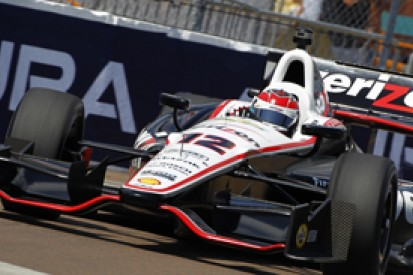 Will Power tops second IndyCar practice at St Petersburg for Team Penske