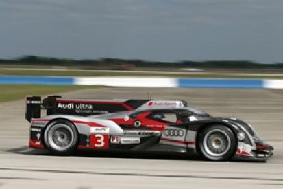 Romain Dumas keeps Audi on top in final practice for Sebring 12 Hours