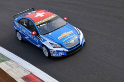Menu keeps Chevrolet on top in the second WTCC practice session at Monza