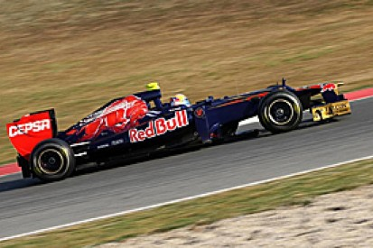 Jean-Eric Vergne fastest on second morning of F1 testing at Barcelona