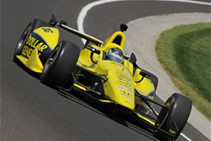Newgarden sets day five pace at Indy