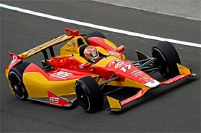 Sebastian Saavedra tops Indy 500 practice on second day