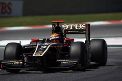 James Calado takes pole position for Lotus GP in GP2 qualifying at Barcelona