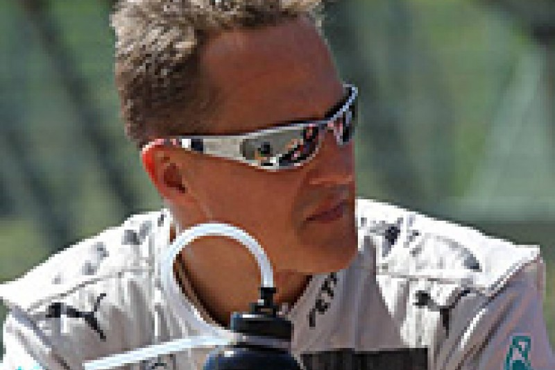 Mercedes backs Michael Schumacher over his opinion on Pirelli's tyres